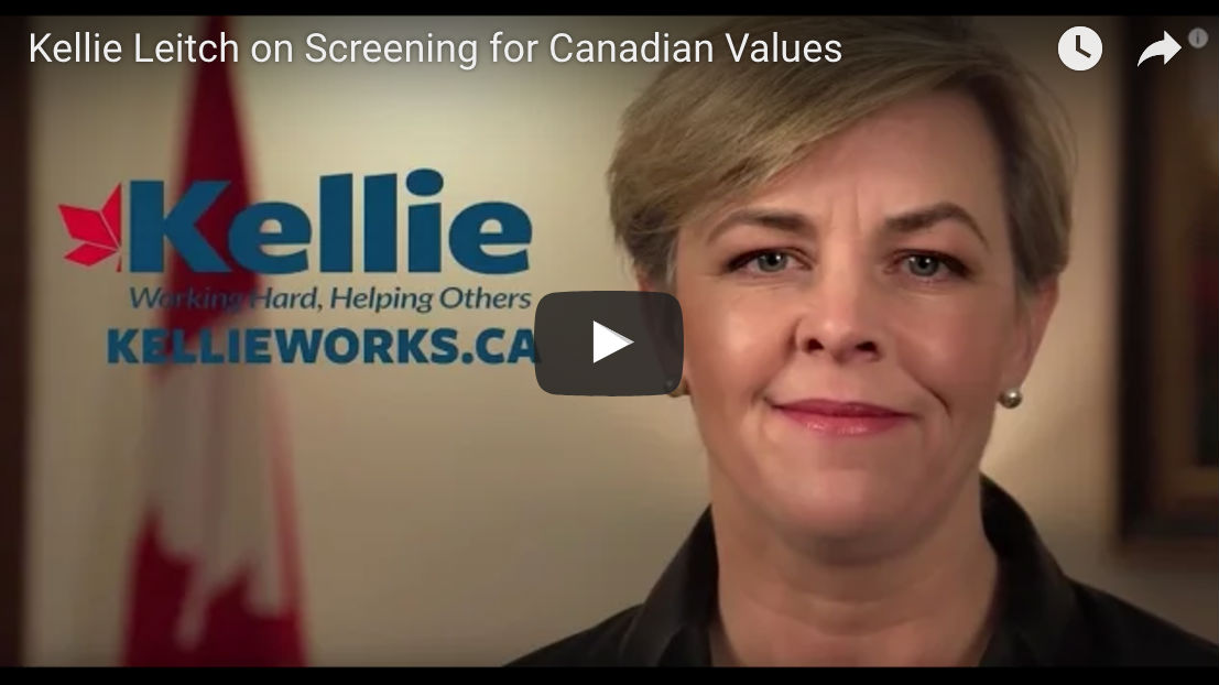 Kellie Leitch VIdeo