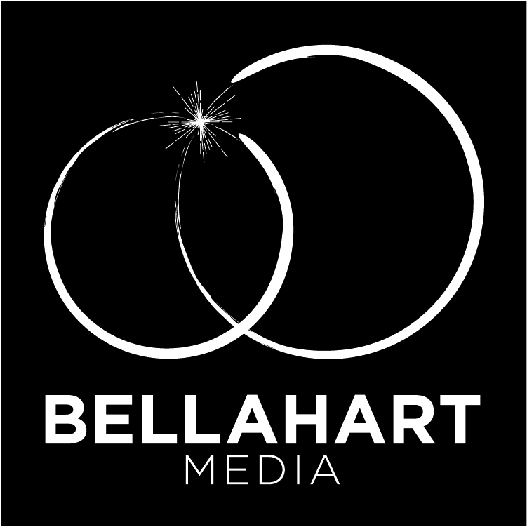 BELLAHART MEDIA - OFFICIAL LOGO - WHITE on BLACK.jpg